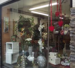 escaparate floristeria garralda